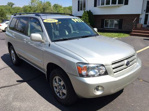 2007 Toyota Highlander for sale in Whitman, MA