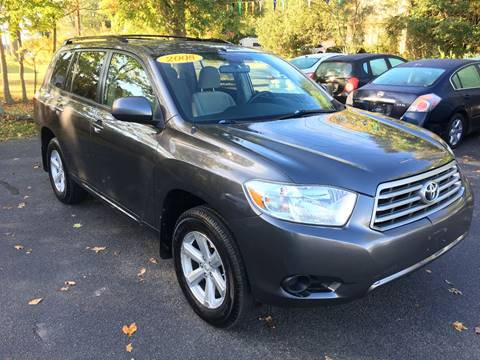 2008 Toyota Highlander for sale in Whitman, MA