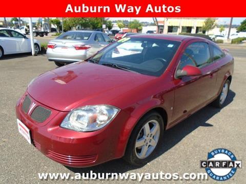 2009 Pontiac G5 for sale in Auburn, WA