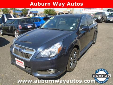 Auburn Way Autos >> 2013 Subaru Legacy For Sale In Auburn Wa