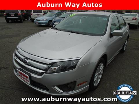 Auburn Way Autos >> 2012 Ford Fusion For Sale In Auburn Wa