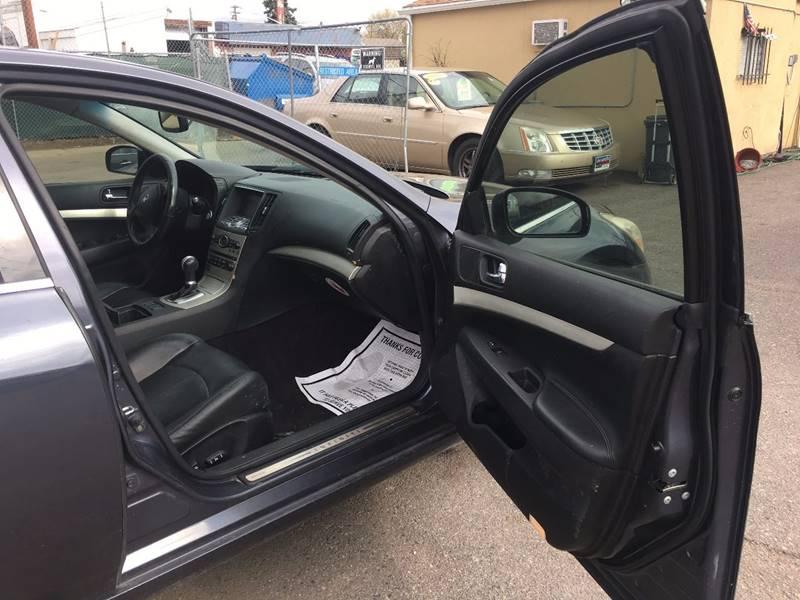 2008 Infiniti G35 Sport 4dr Sedan - Denver CO