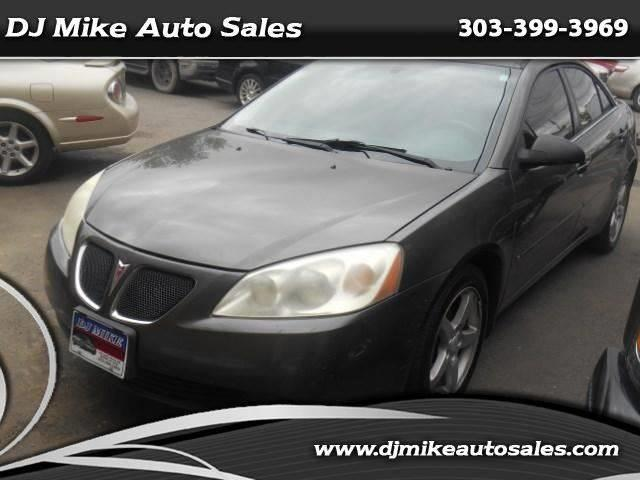 2007 Pontiac G6 4dr Sedan - Denver CO