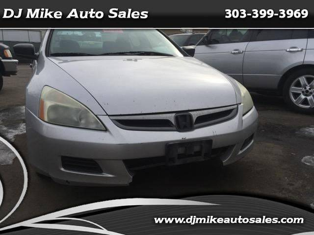 2006 Honda Accord Value Package 4dr Sedan 5A - Denver CO