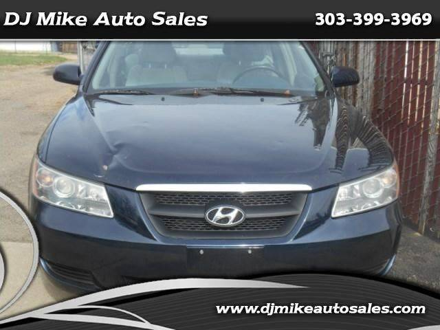 2007 Hyundai Sonata GLS 4dr Sedan w/XM (2.4L I4 4A) - Denver CO