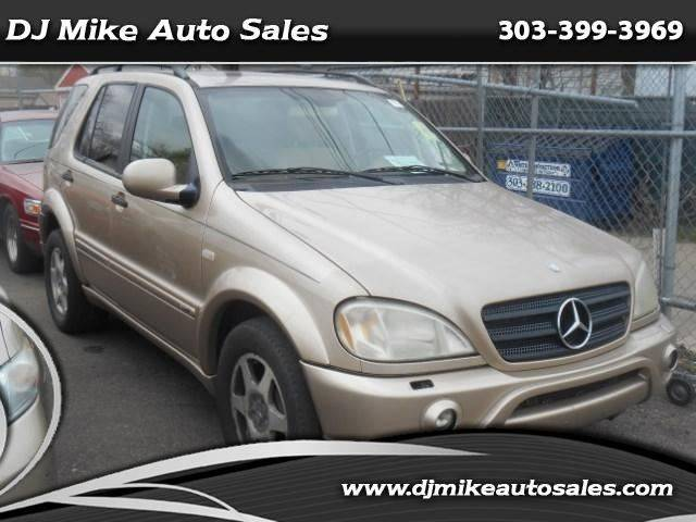 2001 Mercedes-Benz M-Class ML430 AWD 4MATIC 4dr SUV - Denver CO