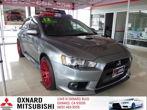 2012 Mitsubishi Lancer Evolution for sale in Oxnard, CA