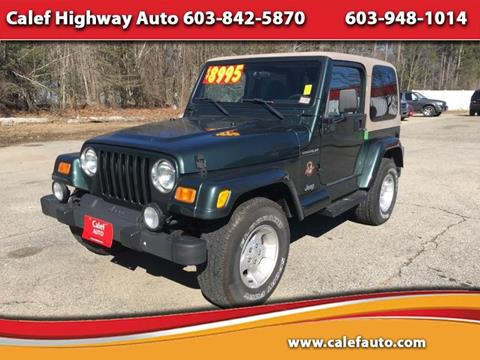 2002 Jeep Wrangler for sale in Barrington, NH