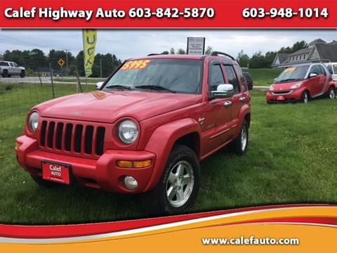 2003 Jeep Liberty for sale in Barrington, NH