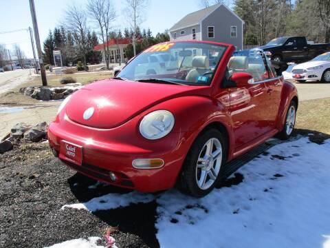 2005 Volkswagen New Beetle Convertible GLS 1.8T for sale at Calef Highway Auto in Barrington NH