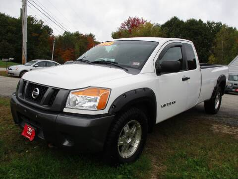 2008 Nissan Titan for sale at Calef Highway Auto in Barrington NH