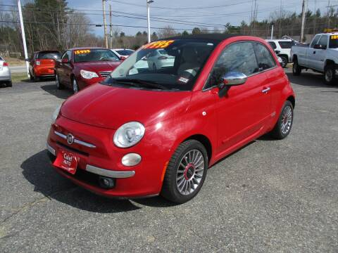 2012 FIAT 500c for sale at Calef Highway Auto in Barrington NH