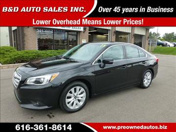 2015 Subaru Legacy for sale in Grand Rapids, MI