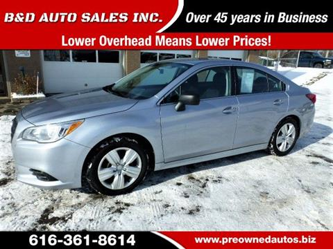 2015 Subaru Legacy for sale in Grand Rapids, MI
