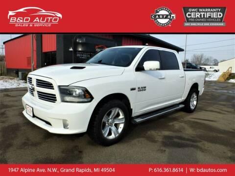 2014 RAM Ram Pickup 1500 for sale at B&D Auto Sales Inc in Grand Rapids MI