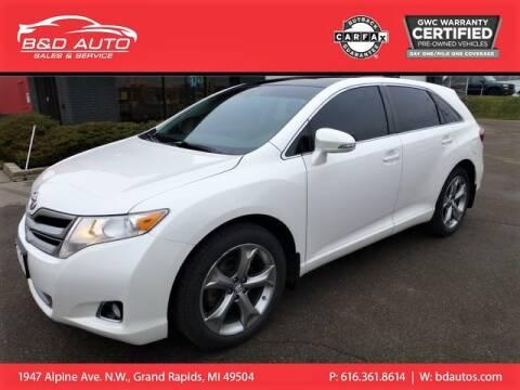 2015 Toyota Venza for sale at B&D Auto Sales Inc in Grand Rapids MI