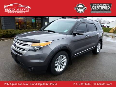 2011 Ford Explorer for sale at B&D Auto Sales Inc in Grand Rapids MI