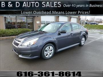 2013 Subaru Legacy for sale in Grand Rapids, MI