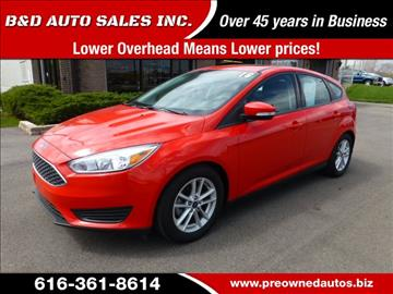 2016 Ford Focus for sale in Grand Rapids, MI