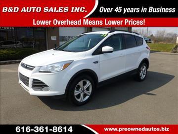 2015 Ford Escape for sale in Grand Rapids, MI