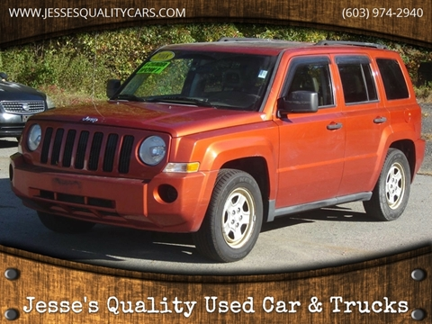 2008 Jeep Patriot for sale in Plaistow, NH
