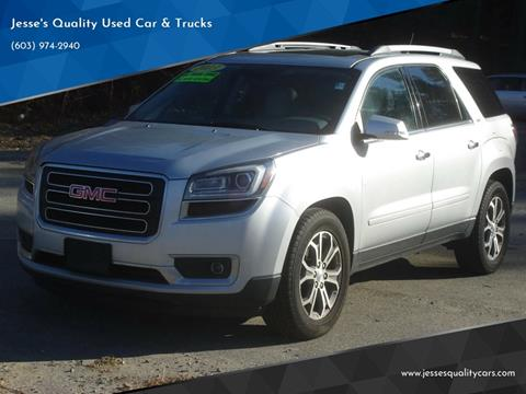 2013 GMC Acadia for sale in Plaistow, NH