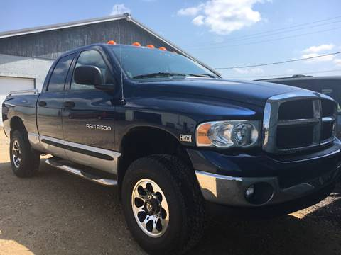 2004 Dodge Ram Pickup 2500 for sale at Auto Group Sales & Service Inc in Roscoe IL