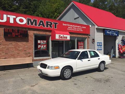 2010 Ford Crown Victoria for sale in Berlin, NH