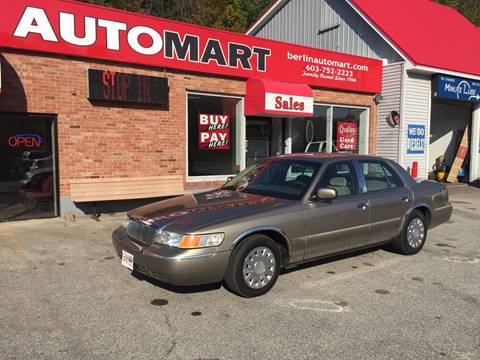 2002 Mercury Grand Marquis for sale in Berlin, NH