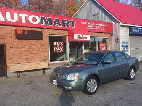 2005 Ford Five Hundred for sale in Berlin, NH