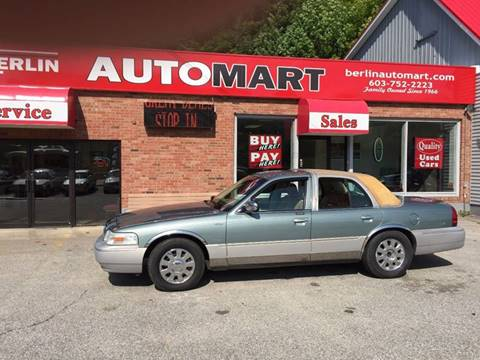 2006 Mercury Grand Marquis for sale in Berlin, NH