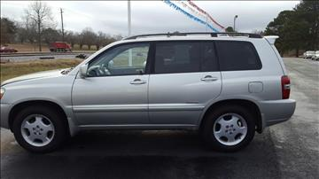 2007 Toyota Highlander for sale in Jemison, AL