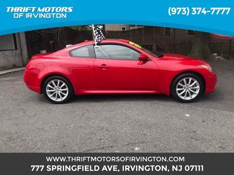 2013 Infiniti G37 Coupe for sale in Irvington, NJ