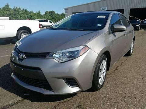 2015 Toyota Corolla for sale in Denton, TX