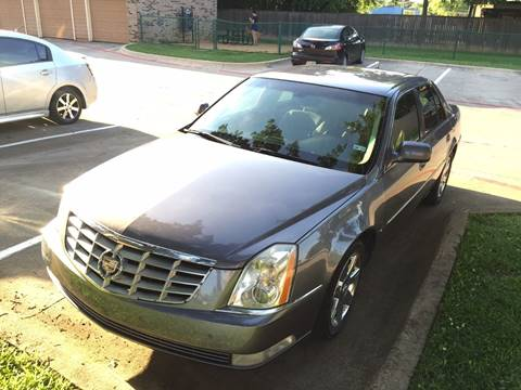 2007 Cadillac DTS for sale in Denton, TX