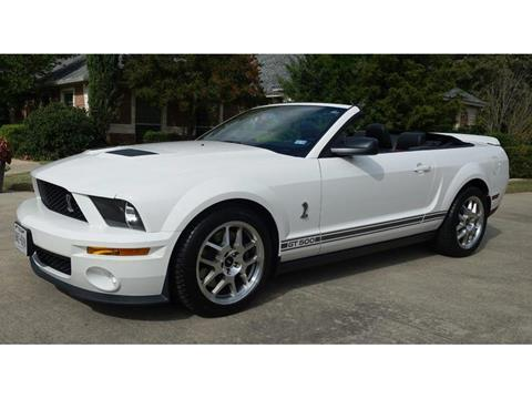 2007 Shelby GT500 for sale in Garland, TX