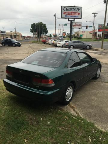 1999 Honda Civic Dx 2dr Coupe In Hot Springs Ar Courtesy Auto Sales