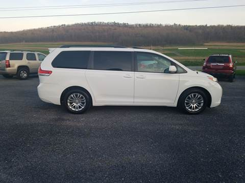2011 Toyota Sienna for sale in Mcveytown, PA