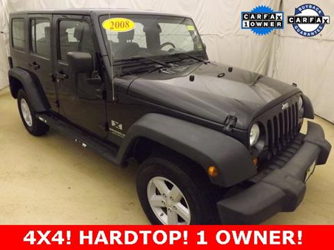2008 Jeep Wrangler Unlimited for sale in Auburn, ME