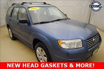 2008 Subaru Forester for sale in Auburn, ME
