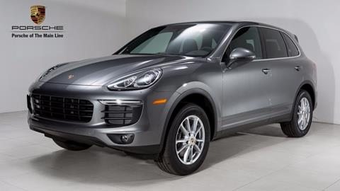 2018 Porsche Cayenne for sale in Newtown Square, PA