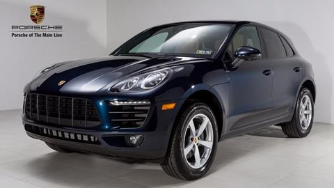 2018 Porsche Macan for sale in Newtown Square, PA