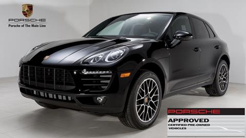 2017 Porsche Macan for sale in Newtown Square, PA