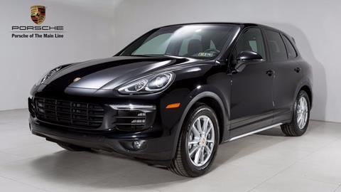 2015 Porsche Cayenne for sale in Newtown Square, PA