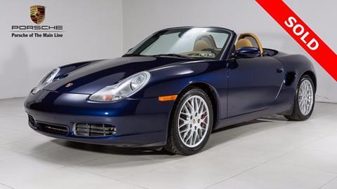 2001 Porsche Boxster for sale in Newtown Square, PA