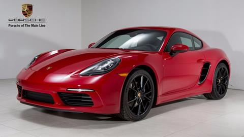 2018 Porsche 718 Cayman for sale in Newtown Square, PA