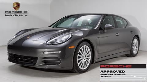 2016 Porsche Panamera for sale in Newtown Square, PA