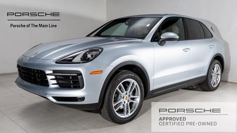 2019 Porsche Cayenne for sale in Newtown Square, PA