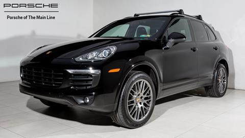 2017 Porsche Cayenne for sale in Newtown Square, PA