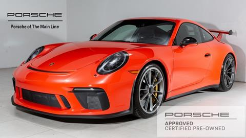 2018 Porsche 911 for sale in Newtown Square, PA